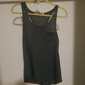 Collective concepts olive green tank top